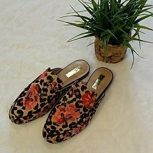 Inc. leopard mules